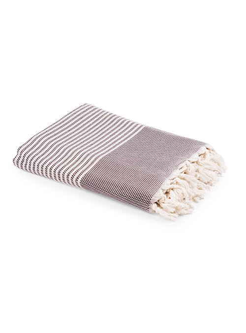Organic throw bed cover turkey