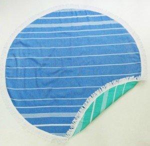 round turkish towel, wholesale turkish towels,