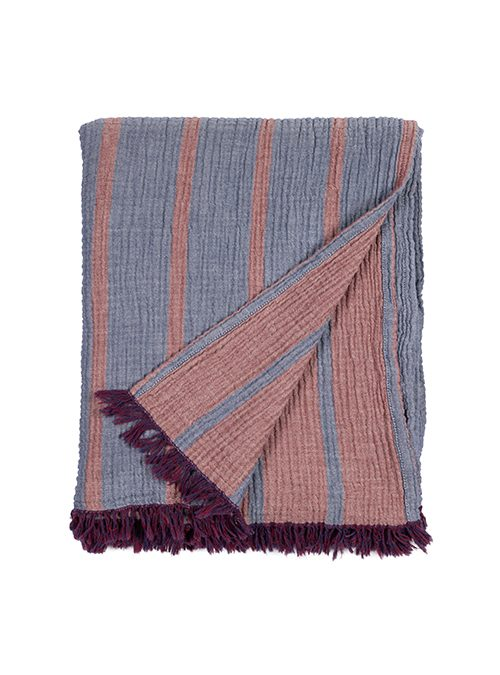 organic cotton throw blanket turkey