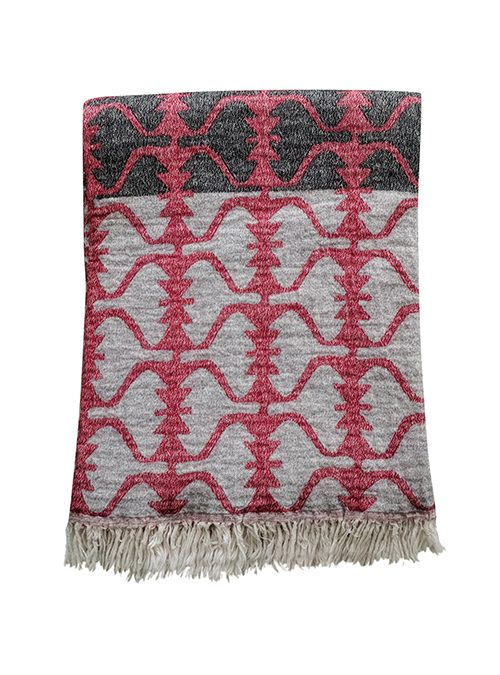 Wool Cotton Throw Wholesale