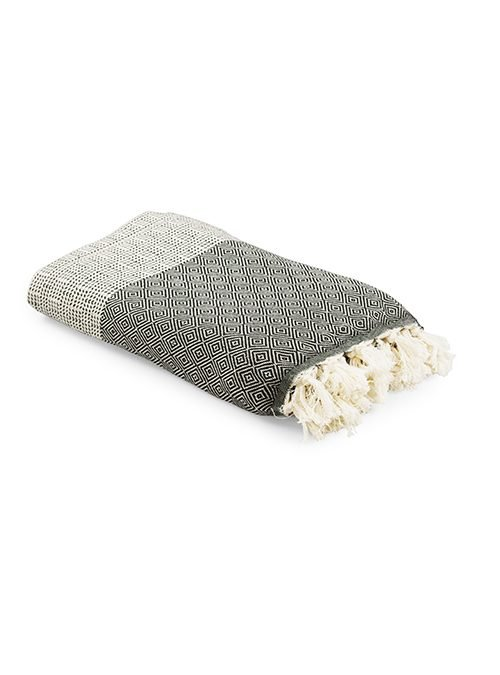 Turkish cotton throw supplier 100