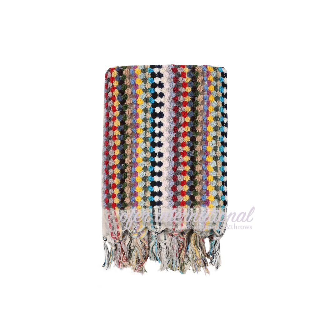Pom Pom Handmade Turkish Towels Ofer International