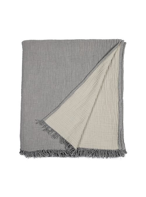 organic muslin cotton throw